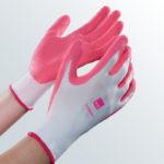 medi Textilhandschuhe in magenta - medi Anziehhilfe für Kompressionsstrümpfe